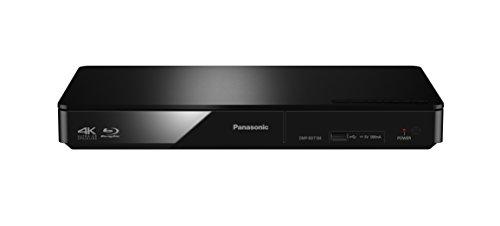 Panasonic DMP-BDT184EG 3D Blu-ray Player (4K Upscaling, DLNA, VoD, HDMI-Steuerung, USB, MKV-Playback) schwarz