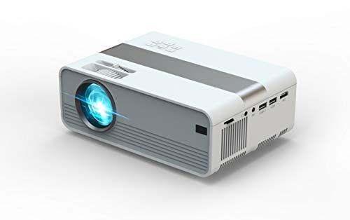 Technaxx Mini-LED HD Beamer TX-127 - Heimkino TX-127 1-20 0-1000 Kann über AV, VGA oder HDMI mit Computer/Notebook, Tablet, Smartphone und Spielekonsolen verbunden werden USB Stick USB Stick