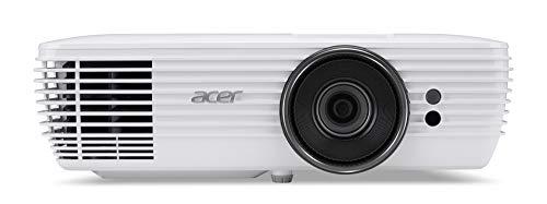 Acer M550BD DLP Beamer (4k UHD (3.840 x 2.160 Pixel) 2.900 ANSI Lumen, 900.000:1 Kontrast, Lens Shift, 5 Watt Lautsprecher, HDMI (HDCP), Audio Anschluss) Home Cinema