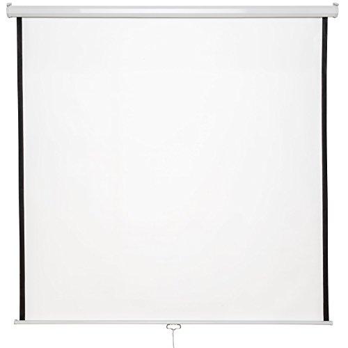 TecTake Heimkino Beamer Leinwand | HDTV & 3D tauglich | - Diverse Modelle - (203x203cm | Nr. 402083)