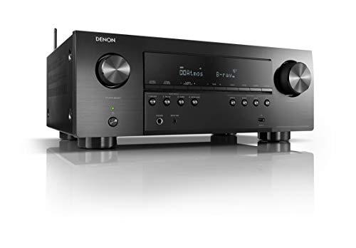 Denon AVR-S960H 7.2-Kanal AV-Receiver, Hifi Verstärker, Alexa kompatibel, 6 HDMI Eingänge und 2 Ausgänge, 8K HDMI, Bluetooth, WLAN, Musikstreaming, Dolby Atmos, AirPlay 2, HEOS Multiroom