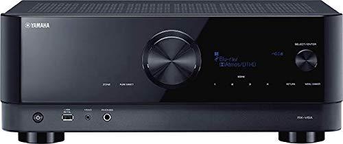 Yamaha AV-Receiver RX-V6A schwarz – Netzwerk-Receiver mit Dolby Atmos Height Virtualizer, Gaming spezifischen Funktionen und Voice Control Systemen – Allround-Talent mit 7.2 Kanälen