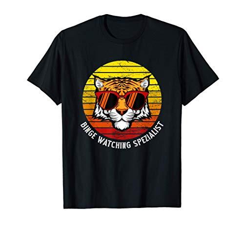 Binge Watching Spezialist! Perfektes Outfit zum Streamen T-Shirt
