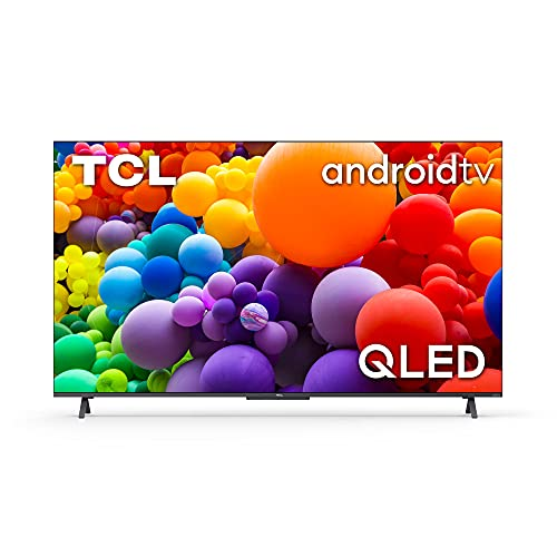 TCL 43C721 QLED Fernseher 43 Zoll Smart TV (4K UHD, Quantom Dot, 100% Farbvolumen, Android 11, Dolby Vision Atmos, MEMC, ONKYO, Google Duo, Google Assistant & Alexa, HDMI 2.1) [2021]