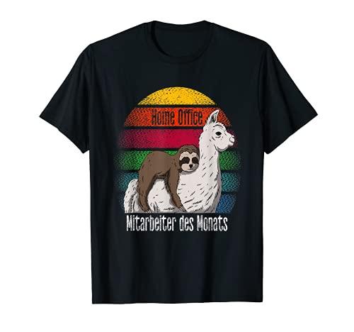 Mitarbeiter des Monats Home Office HomeOffice Büro Arbeit T-Shirt
