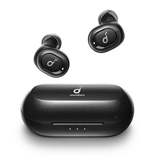 Anker Soundcore Liberty Neo Bluetooth Kopfhörer, Kabellose Kopfhörer mit Premium Klangprofil mit intensivem Bass, Bequemer Halt, Bluetooth 5.0 (Schwarz)