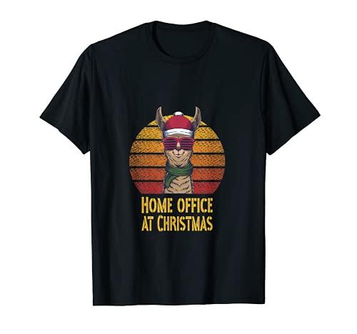 Home Office at Christmas Büro Advent Weihnachten T-Shirt