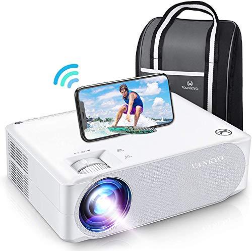WiFi Beamer 7000 Lux, Native 1080p Beamer Full HD, VANKYO Performance V630W Beamer Heimkino, mit ±50° Elektronische Korrektur, Support HDMI TV Stick Xbox Laptop, iOS/Android Smartphone Projektor