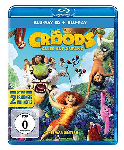 Die Croods - Alles auf Anfang (Blu-ray 3D) (+ Blu-ray 2D)