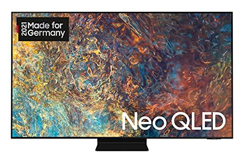 Samsung Neo QLED 4K TV QN90A 50 Zoll (GQ50QN90AATXZG), Quantum HDR 1500, Quantum-Matrix-Technologie, Motion Xcelerator Turbo+ [2021]