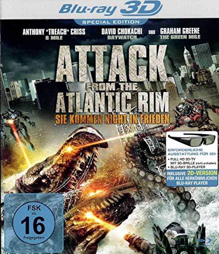 Attack from the Atlantic Rim 3D Blu-ray - Sie kommen nicht in Frieden